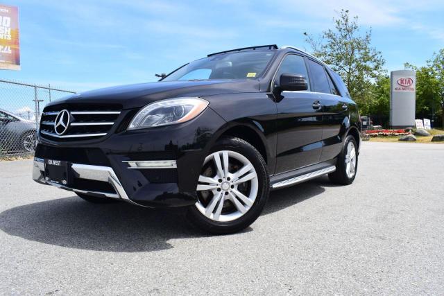 2013 Mercedes-Benz ML 350 BLUETEC AC/NAVI/ROOF/LEATHER/PL/P