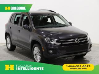 Used 2016 Volkswagen Tiguan ÉDITION SP. 4 for sale in St-Léonard, QC
