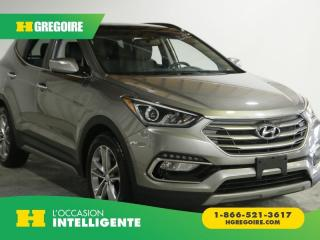 Used 2017 Hyundai Santa Fe LTD 2.0T AWD AC GR for sale in St-Léonard, QC