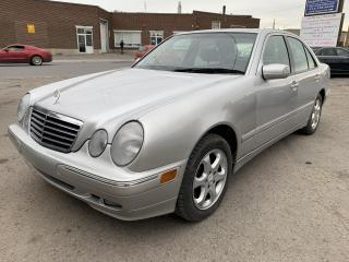 Used 2002 Mercedes-Benz E-Class Berline 4 portes 3,2 L 4MATIC for sale in Montréal-Nord, QC