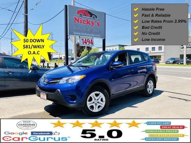 2014 Toyota RAV4 LE - AWD - ACCIDENT FREE - LOW KM'S - LOADED!