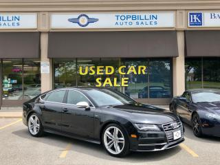 Used 2013 Audi S7 Fully Loaded, Clean CarFax for sale in Vaughan, ON