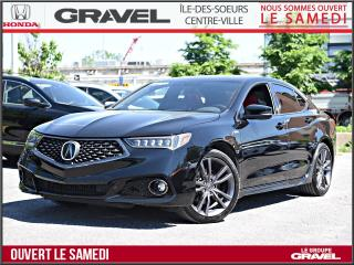 Used 2019 Acura TLX TECH A SPEC - AWD - CUIR ROUGE - GPS - for sale in Ile-des-Soeurs, QC