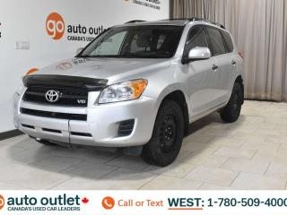 Used 2010 Toyota RAV4 4WD, POWER WINDOWS, CRUISE CONTROL, A/C, AM/FM RADIO, SATELLITE RADIO for sale in Edmonton, AB