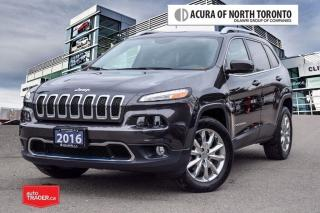 Used 2016 Jeep Cherokee 4x4 Limited No Accident  Remote Start for sale in Thornhill, ON