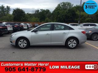 Used 2012 Chevrolet Cruze LS  4DR SEDAN LS + W/1SB TRIM for sale in St. Catharines, ON