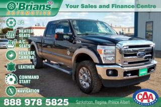 Used 2013 Ford F-350 Super Duty SRW Lariat w/Command Start, 4x4, Nav, Leather for sale in Saskatoon, SK