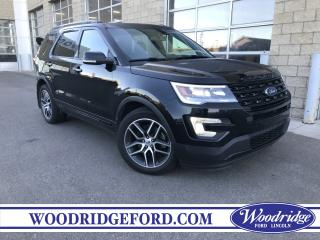 Used 2017 Ford Explorer Sport ***PRICE REDUCED*** REMOTE START, BLUETOOTH, NAVIGATION, ADAPTIVE CRUISE CONTROL for sale in Calgary, AB
