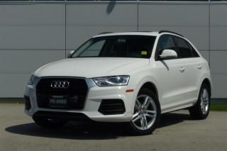 Used 2016 Audi Q3 2.0T Komfort FWD 6sp Tiptronic *Low Kms* for sale in Vancouver, BC