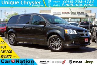 Used 2016 Dodge Grand Caravan SXT PREMIUM PLUS| PWR DOORS/TAILGATE| DVD| NAV for sale in Burlington, ON