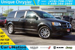 Used 2016 Dodge Grand Caravan SXT PLUS| DVD| REAR CAM| TRI-CLIMATE & MORE for sale in Burlington, ON