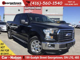 Used 2015 Ford F-150 XLT|5L V8 |4X4 | 18 CHROME WHLS|BOX LINER|BU CAM for sale in Georgetown, ON