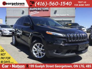 Used 2016 Jeep Cherokee North   4WD   HTD SEATS   BU CAM   BLUTOOTH   TINT for sale in Georgetown, ON