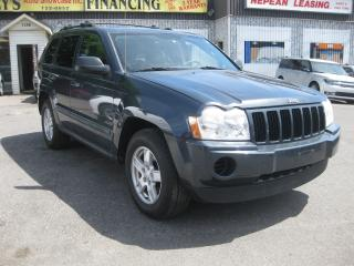 Used 2007 Jeep Grand Cherokee Laredo AC 4WD Cruise PL PM PW for sale in Ottawa, ON
