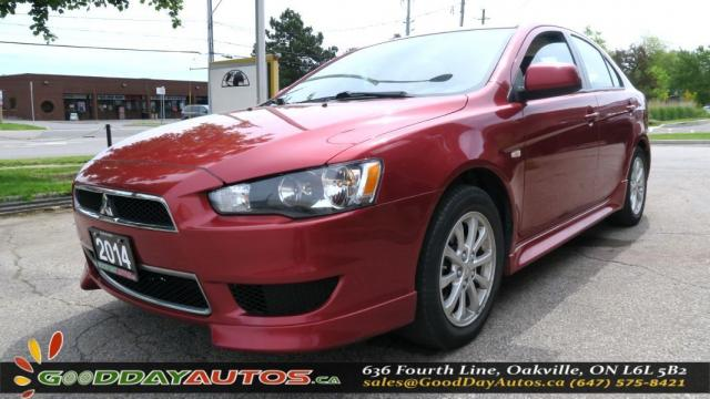 2014 Mitsubishi Lancer Sportback SE|NO ACCIDENT|SUNROOF|BLUETOOTH|HEATED SEATS