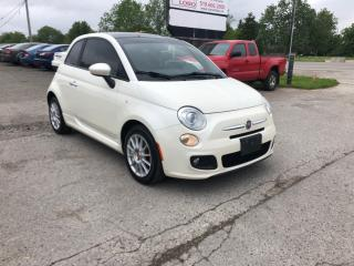Used 2012 Fiat 500 Sport for sale in Komoka, ON