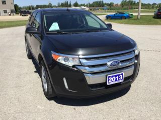 Used 2013 Ford Edge SEL | FWD | Accident Free | Bluetooth for sale in Harriston, ON