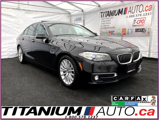 2015 BMW 5 Series xDrive+GPS+360 Camera+Park Sensors Front & Rear+XM