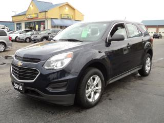 Used 2016 Chevrolet Equinox LS 2.4L Bluetooth BackUpCamera for sale in Brantford, ON