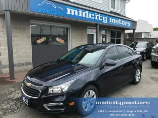 Used 2016 Chevrolet Cruze LT/Turbo/Backup Cam/Tinted Windows for sale in Niagara Falls, ON