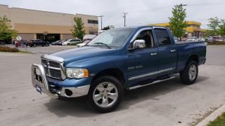 Used 2005 Dodge Ram 1500 4X4, 4 door, Leather, 3/Y warranty availab for sale in Toronto, ON