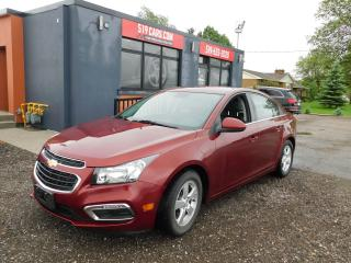 Used 2016 Chevrolet Cruze LT|LEATHER|SUNROOF|BLUETOOTH for sale in St. Thomas, ON