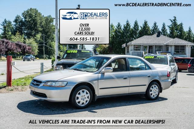 1999 Honda Accord LX Sedan, Auto, 4-Cyl, Bluetooth, Clean!