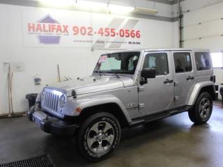 Used 2018 Jeep Wrangler Sahara for sale in Halifax, NS