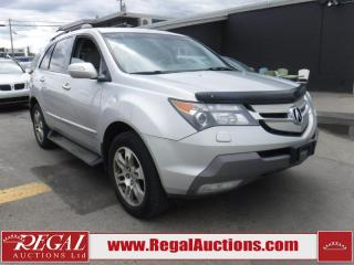 Used 2008 Acura MDX 4D Utility AWD for sale in Calgary, AB