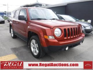 Used 2012 Jeep Patriot 4D Utility 4WD for sale in Calgary, AB