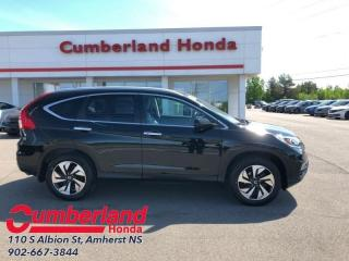 Used 2016 Honda CR-V Touring  - Navigation for sale in Amherst, NS