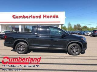 Used 2017 Honda Ridgeline Sport  - Sunroof -  Bluetooth for sale in Amherst, NS
