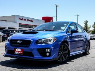 Used 2016 Subaru WRX Limited 6M for sale in Burlington, ON