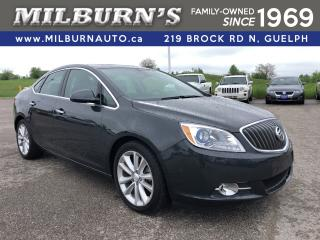 Used 2015 Buick Verano Leather / Nav. / Sunroof for sale in Guelph, ON