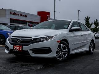 Used 2016 Honda Civic LX|SERVICE HISTORY ON FILE for sale in Burlington, ON