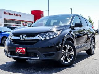 Used 2017 Honda CR-V LX 2WD|NO ACCIDENTS|SERVICE HISTORY ON FILE for sale in Burlington, ON