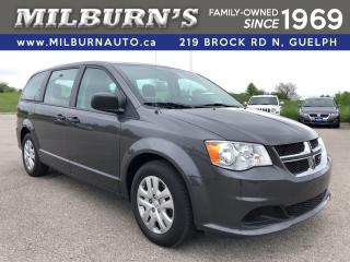 Used 2018 Dodge Grand Caravan CANADA VALUE PACKAGE for sale in Guelph, ON