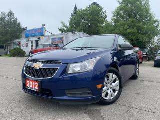 Used 2012 Chevrolet Cruze 4dr Sdn LS+ w/1SB *ACCIDENT FREE w/ BLUETOOTH* for sale in Brampton, ON