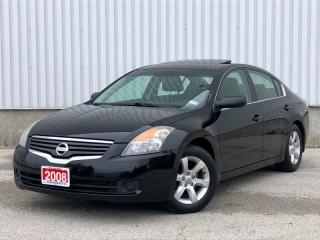 Used 2008 Nissan Altima 2.5 SL|Leather|Navigation|Back Up Cam|1 Year Warranty! for sale in Mississauga, ON