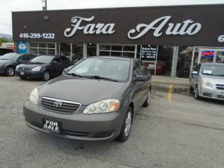 Used 2005 Toyota Corolla CE , AUTO , AIR for sale in Scarborough, ON