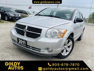 Used 2011 Dodge Caliber Air Condition | Cruise Control | Keyless Entry | Heated Seat for sale in Mississauga, ON