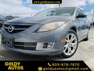 Used 2010 Mazda MAZDA6 Sunroof | Leather Seats | 5 Passengers | 2 Set of Tires | for sale in Mississauga, ON