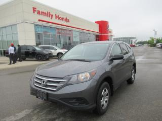 Used 2013 Honda CR-V LX for sale in Brampton, ON