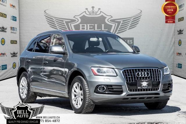 2014 Audi Q5 2.0L Progressiv,AWD, PANO ROOF, LEATHER, SENSORS, MEMO SEAT