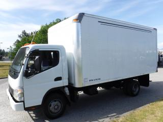 Used 2007 Mitsubishi Fuso FE85D Cube Van Diesel 16 foot for sale in Burnaby, BC
