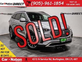 Used 2018 Hyundai Santa Fe XL Luxury 7 Passenger| AWD| NAVI| PANO ROOF| LEATHER| for sale in Burlington, ON