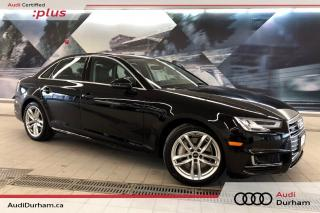Used 2018 Audi A4 2.0T Technik + Driver Assist | Keyless | Rear Cam for sale in Whitby, ON