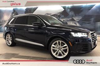 Used 2017 Audi Q7 3.0T Technik + Luxury Pkg | S-Line | Rear Cam for sale in Whitby, ON