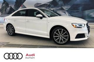 Used 2018 Audi A3 2.0T Technik + Sport Pkg | Rear Cam | Nav for sale in Whitby, ON