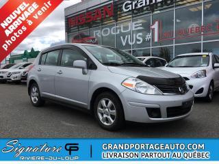 Used 2012 Nissan Versa Hayon 5p 4 cyl en ligne, CVT 1,8 SL *Dis for sale in Rivière-Du-Loup, QC